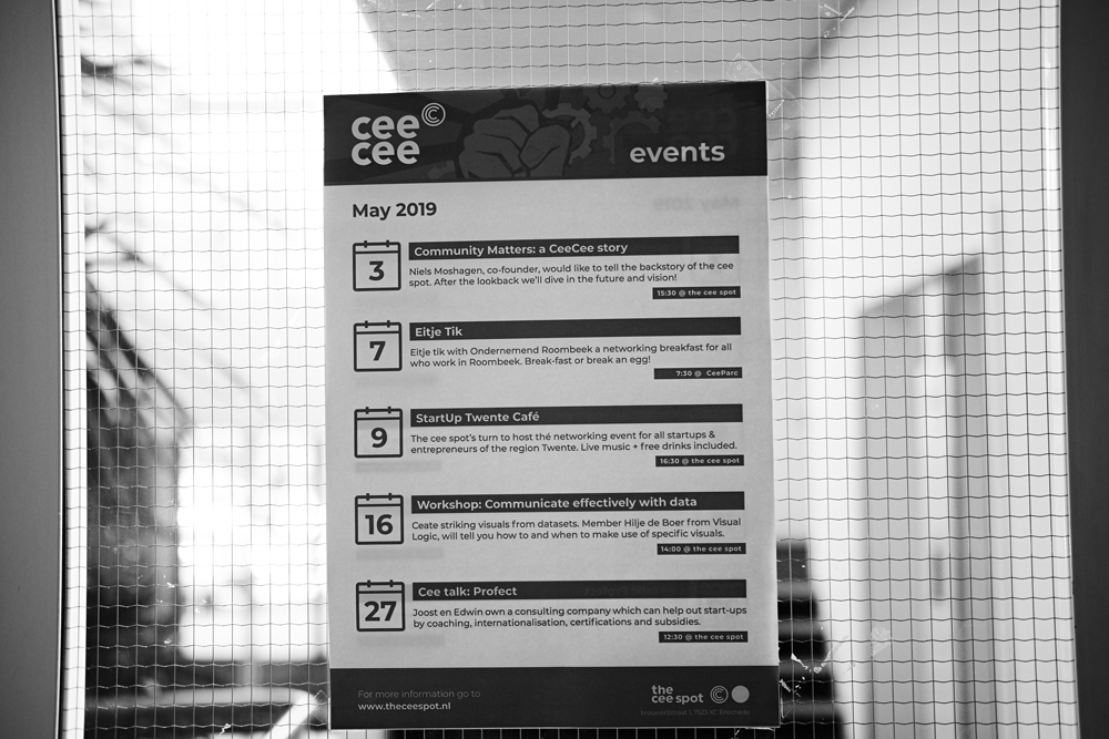 the cee spot enschede bord