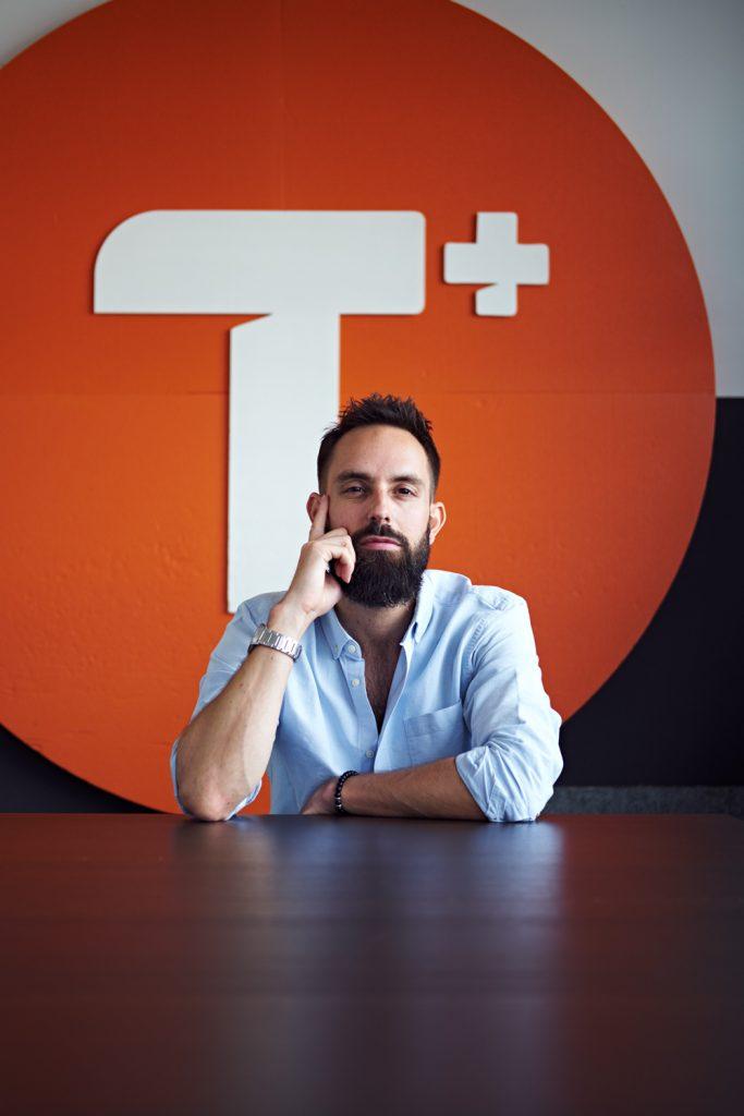 Ruud Scholten bij zijn bedrijf TS24 (Tessa Wiegerinck)