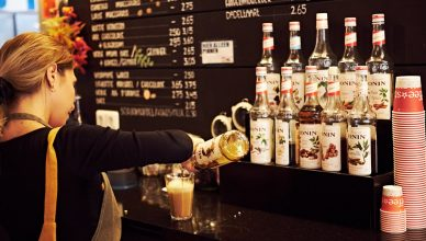 Coffee-star Hengelo met echte barista's (Tessa Wiegerinck)