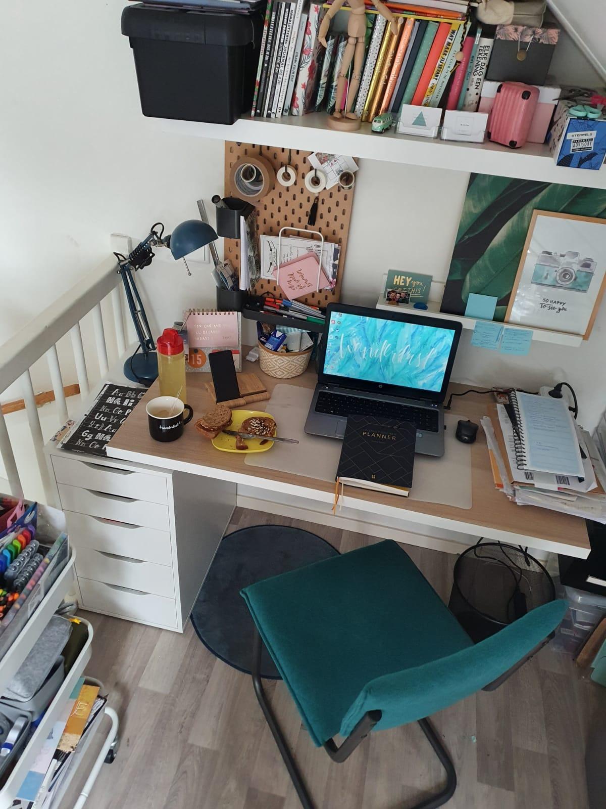Werkplek thuis Wendy