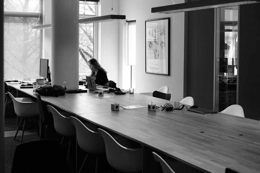 Wendy Kloezeman werkt bij flexwerkplek flexplek werkplek Oude Markt Enschede, Derde Verdieping (Tessa Wiegerinck)