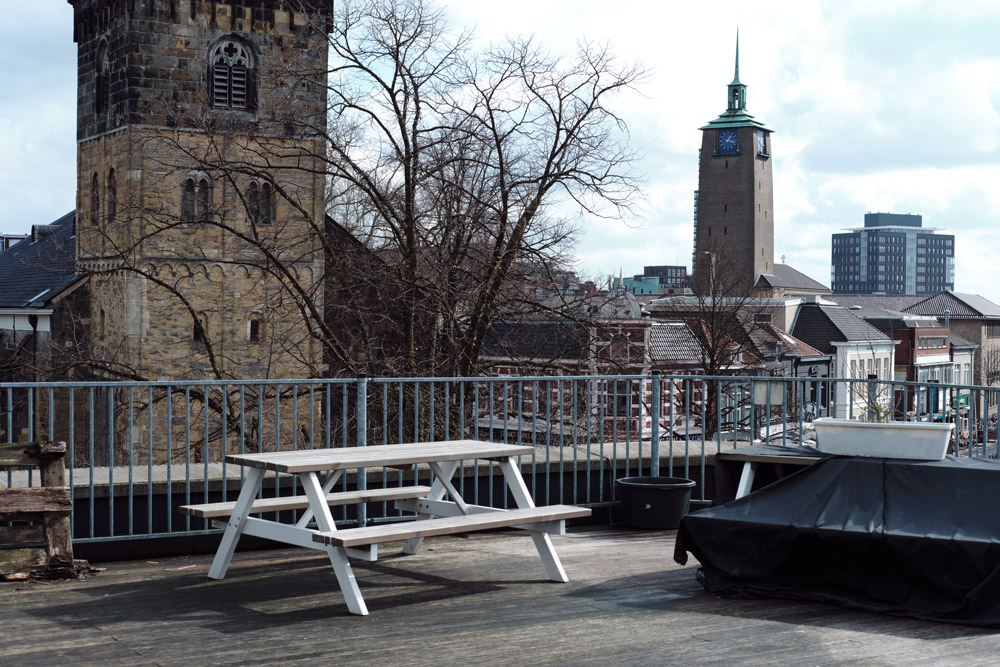 Uitzicht Derde Verdieping Enschede (Tessa Wiegerinck)